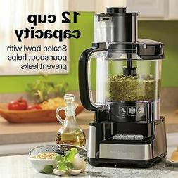 Hamilton Beach 70727 12-Cup Stack & Snap Food Processor and