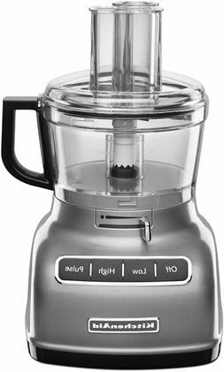 Kitchenaid - 7-cup Food Processor - Contour Silver