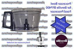 Breville BFP400 BFP450 Food Processor Bowl BFP400/41 - NEW -