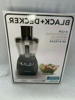 Black and Decker 8 Cup Food Processor! New in Box!