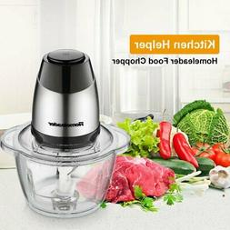 Electric Food Chopper, 5-Cup Food Processor by Homeleader, 1