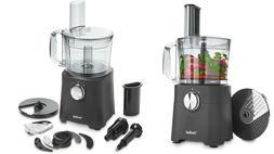 Food Processor 8 Cup Blender Chopper Multi Mixer Combo Shred