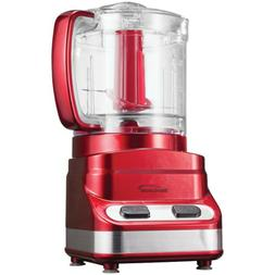 Brentwood FP-548 Food Processor-Red