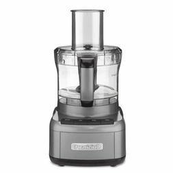 Cuisinart FP-8GM Elemental 8 Cup Food Processor, Gunmetal