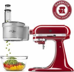 KitchenAid KSM2FPA Exact Slice Food Processor Attachment, Di