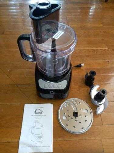 12 Cup Food Processor Blender 1 8l 3 Speed Opti