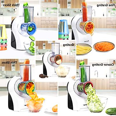 COSTWAY Efficient and Multifunctional Salad Maker Vegeta