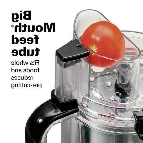 Hamilton 12-Cup Stack & Snap Food Processor and