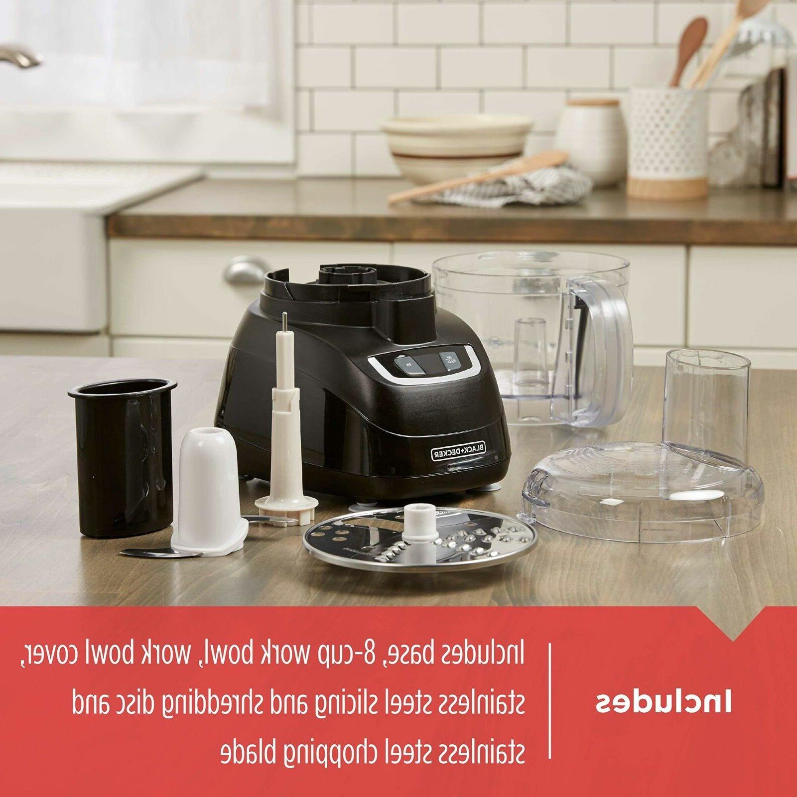 8 Cup Food Pulse Full Kitchen Dishwasher