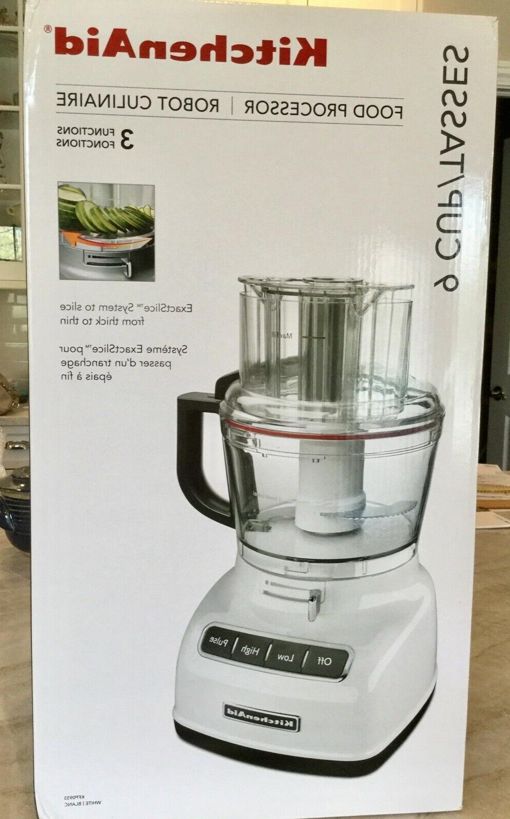 9 cup food processor exact slice system