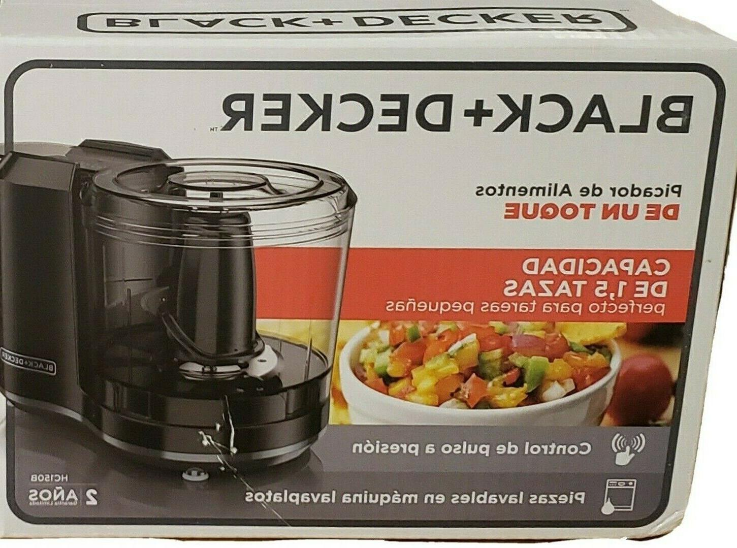 black and decker 1 1 2 cup