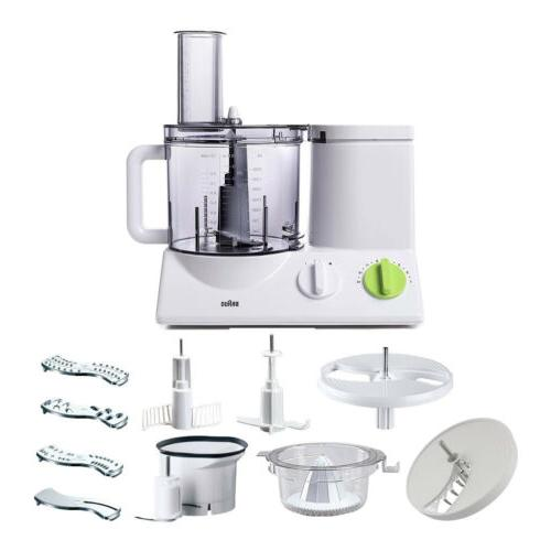 food processor with slicing insert blade
