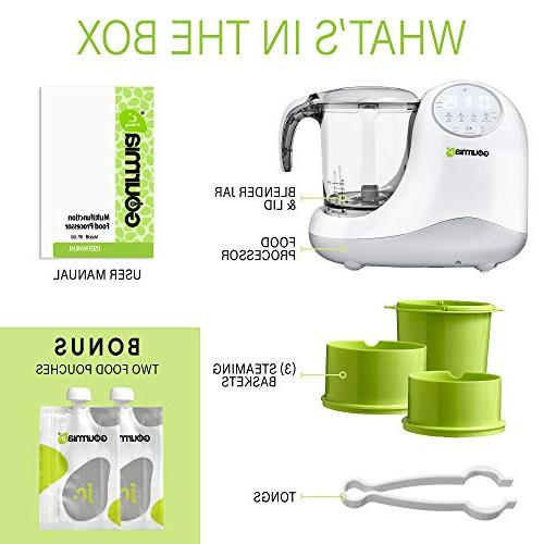 Gourmia Food Tier Steaming,3 Modes, Touch JFP300, ETL-Certified