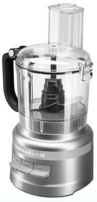 KitchenAid Premium 7-cup Food Processor Plus - Contour Silve
