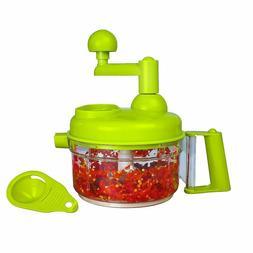 Manual Vegetable Cutter Food Processor 8 in 1 - Chopper, Mix