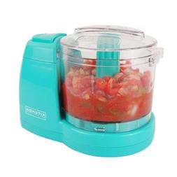 Kitchen Selectives Mini Chopper, Food Processor, TURQUOISE,